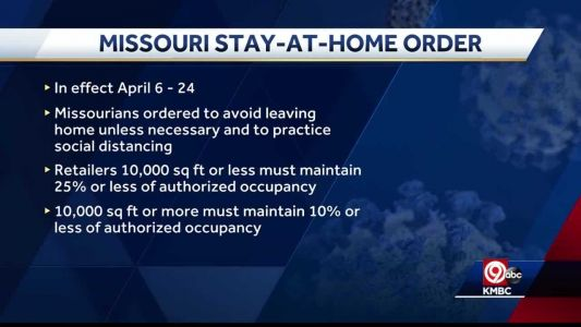 Missouri's new stay-at-home order has provision to limit business occupancy for social distancing