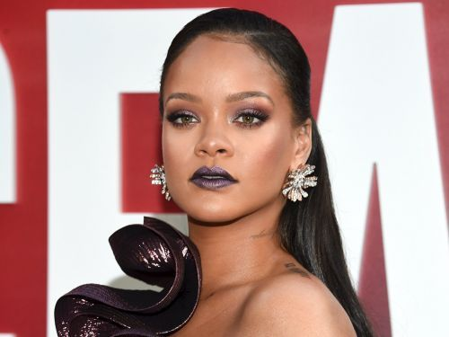 Rihanna wore affordable lingerie from her own brand - but she took the look to the next level with a tiny $12,500 purse