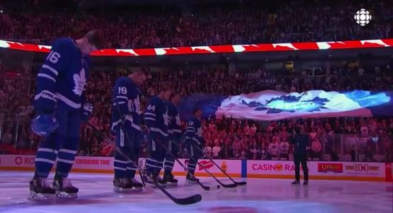 'ALL OF TORONTO IS WITH YOU': The Toronto Maple Leafs had a moving tribute for the victims of the van collision that killed at least 10