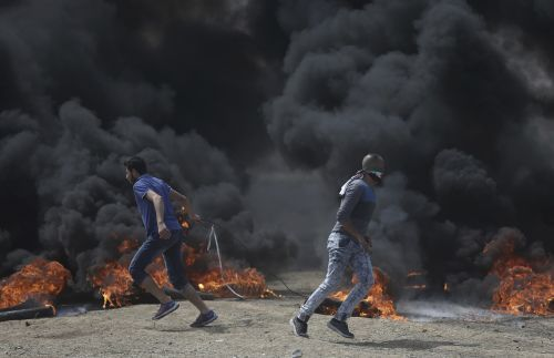 Mass protests in Gaza ahead of US Embassy event in Jerusalem