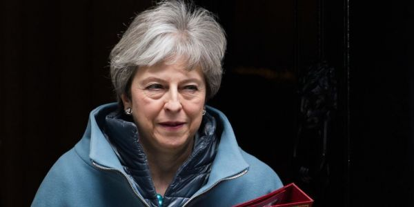 Theresa May pulls third Brexit meaningful vote after DUP refuses to back deal