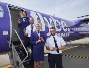 Heathrow Celebrates Flybe's First Anniversary At The airport
