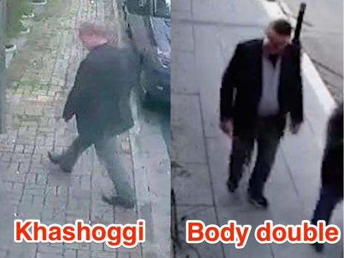 Saudi agents reportedly stripped Khashoggi's body and walked out of the consulate wearing his clothes after killing him
