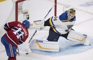 Gallagher scores goal, Canadiens edge Blues 3-2