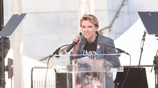 Shots Fired! Scarlett Johansson Calls Out James Franco in Her Women's March Speech