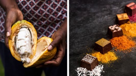 One Woman's Quest To Tell 'The African Story Through Chocolate'