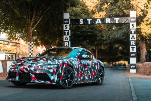 Toyota Confirms a Four-Cylinder Supra