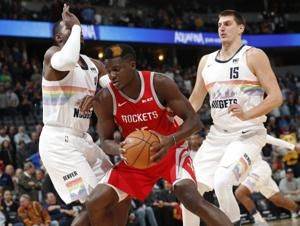 Harden scores 22 points, Rockets beat Nuggets 109-99