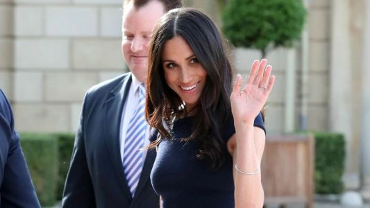 Meghan Markle Wore a Thing: Roland Mouret Dress Edition