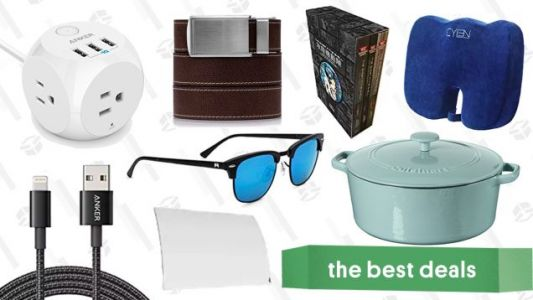 Wednesday's Best Deals: HDTV Antenna, Lightning Cables, Ratchet Belts, and More