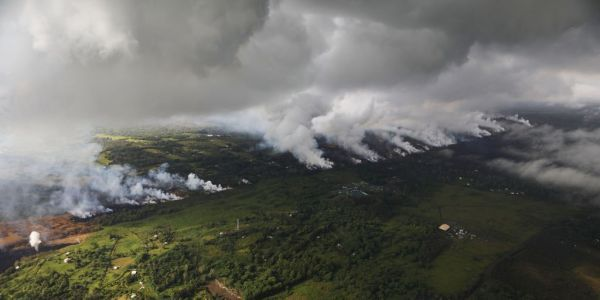 Hawaii's Kilauea Volcano is causing earthquakes after shooting out 'ballistic blocks' three times larger than bowling balls