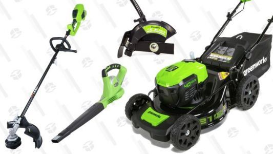 Make the Switch to Electric Lawn Tools With Today's Amazon Gold Box