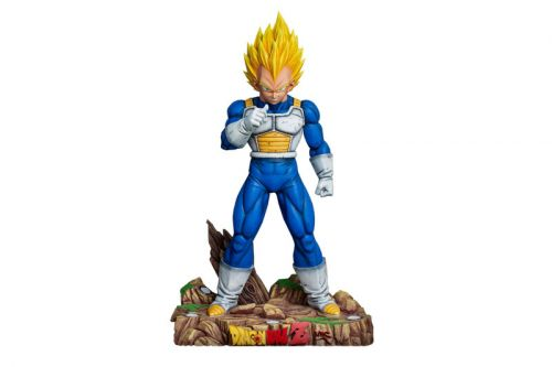 This Life-Sized Vegeta Statue Cost $3990 USD