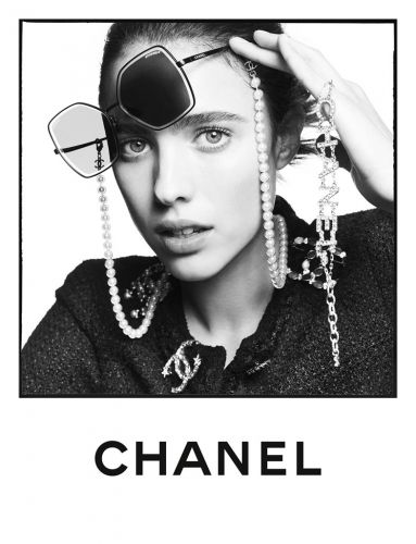Margaret Qualley Stars in Chanel's Spring Eyewear Campaign