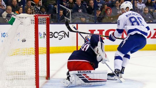 Nikita Kucherov continues prolific run with five-point night against Blue Jackets