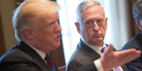 "Mattis has become a 'secret ""peacenik""' in the Trump White House - and he's growing more isolated"