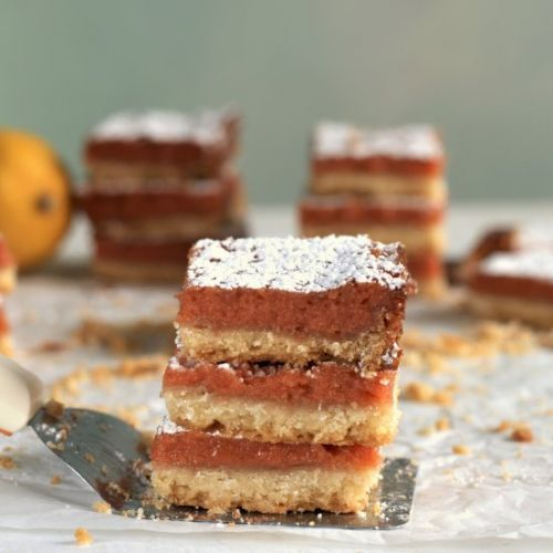 Guava lemon bars