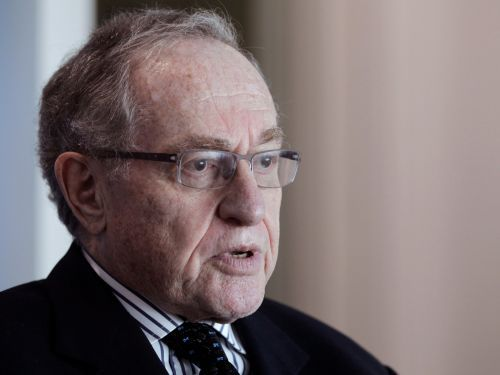Alan Dershowitz went from saying Donald Trump could be a corrupt president to being part of his impeachment defense team