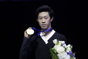 Chen avenges his Olympic flop with world figure skate title