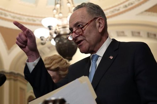 Schumer slams 'stunt' Green New Deal vote as moderates fret