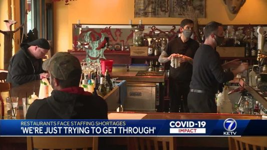 'We're just trying to get through': Restaurants face staffing shortages