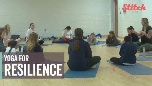 Students learn to be flexible emotionally and physically with school's alternative classes