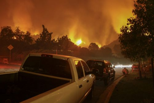 Wildfires destroying California bring questions about health and climate