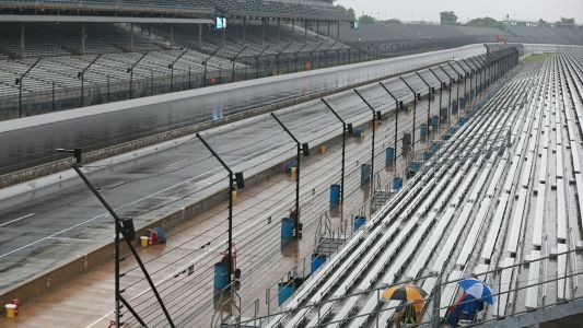 NASCAR schedule at Indy threatened by remnants of Tropical Storm Gordon