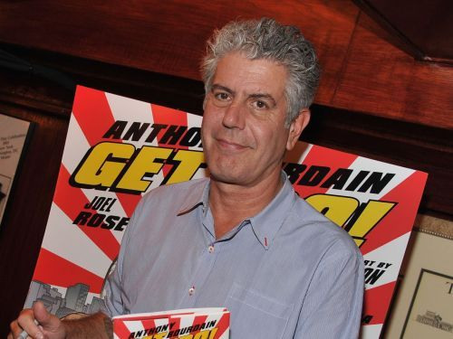 How Anthony Bourdain Became a Book Publisher