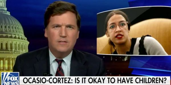 Fox News hosts accuse Alexandria Ocasio-Cortez of 'admitting to civilizational suicide' after the congresswomen asks if it's 'okay to still have children' with the threat of climate change