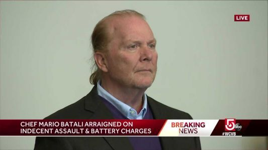 Mario Batali arraigned on indecent assault and battery charge