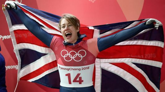Winter Olympics 2018: Great Britain's Lizzy Yarnold makes Olympics history
