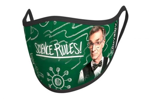 Bill Nye and AIRBAND Release Protective Mask Collection