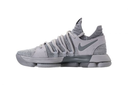 """The Nike KD 10 Gets a """"Wolf Gray"""" Rework"""