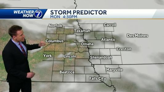 Cloudy and cool to start the week, snow possible late this week