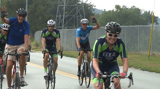 Corporate Cycling Challenge helps raise money for local trails
