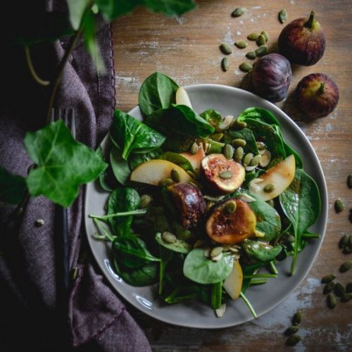 Spinach and Fig Salad