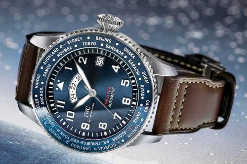 """IWC Schaffhausen Adds the Timezoner to Its """"Le Petit Prince"""" Lineup"""