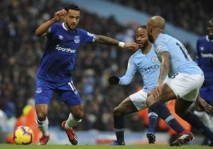 Jesus double leads Man City past Everton 3-1; De Bruyne back
