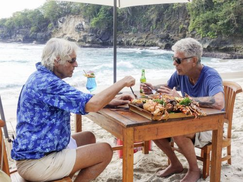 The Best Moments of Anthony Bourdain's Trip to Indonesia on 'Parts Unknown'