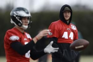 Severity of Carson Wentz's back injury still unknown