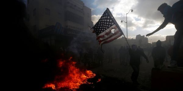 The Middle East erupted in protest after Trump's Jerusalem announcement - here are 13 incredible photos of the unrest