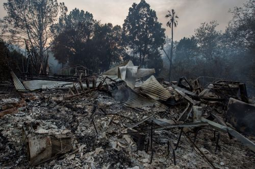 Gusty winds, low humidity tax worn-out California firefighters