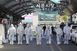S. Korea leader: 'Unprecedented' steps needed to fight virus