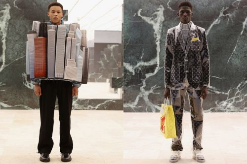 Virgil Abloh's Louis Vuitton Contemplates Archaic Societal Norms
