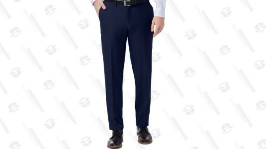 Dress Up, Dad, With Haggar's One Day Pants and Shorts Sale