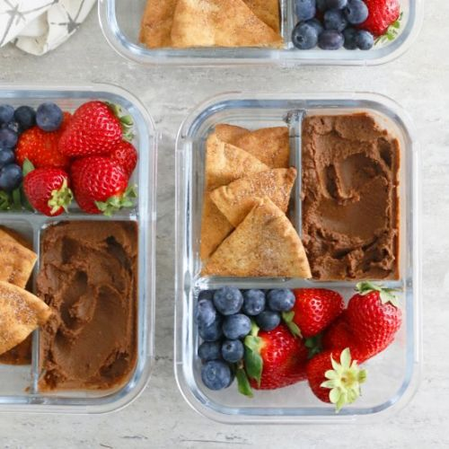 Guilt Free Chocolate Hummus