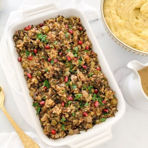 Jeweled Wild Rice Stuffing