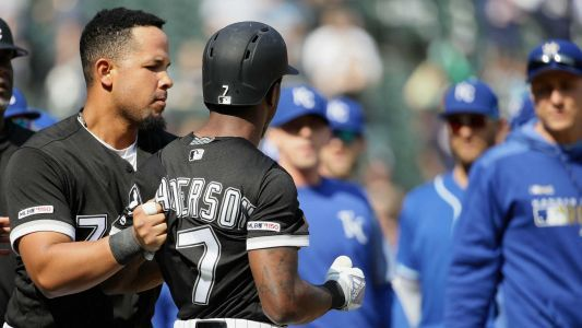 White Sox's Tim Anderson to be suspended for altercation after bat toss, HBP