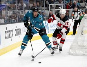 Meier's 2 goals lead Sharks past Devils 5-2